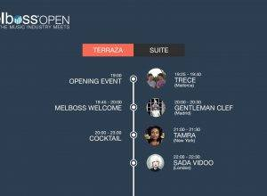 Line Up - Melboss Open