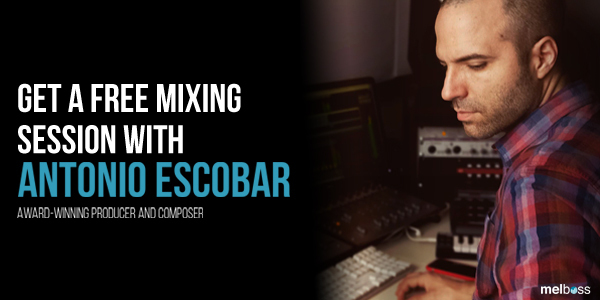 Win a Mixing Session with Antonio Escobar